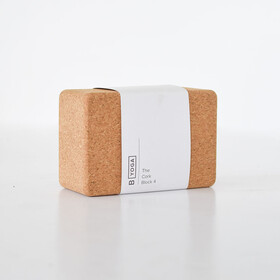 B Yoga B BLOCK 4 10cm, marrone